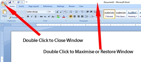 Maximize or close open window- Mouse Tips in Hindi