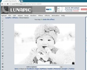 Lunapic-Create Free Cartoons From Your Photos