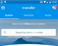 Search numbers to identify with Search bar- Truecaller hidden and new features
