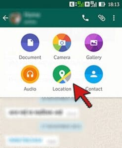 Share Location- WhatsApp New features